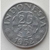 Индонезия 25 сен 1952