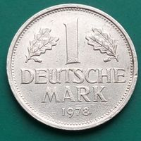 1 марка 1978 G ГЕРМАНИЯ