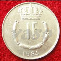 7609:  1 франк 1984 Люксембург