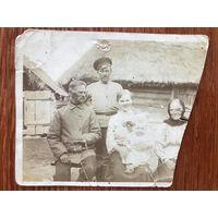 Фото семья, Беларусь, 1916 год, война, этнография