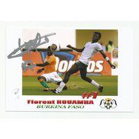 Florent Rouamba(Буркина-Фасо). Фотография с живым автографом #1