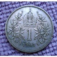 Австро-Венгрия. 1 крона 1901 г.