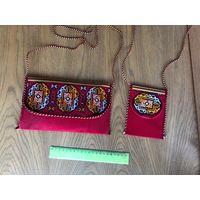 Сумочка и кошелек из Туркмении за все 10 рублей
