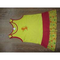 Платье для девочки, рост 110-116