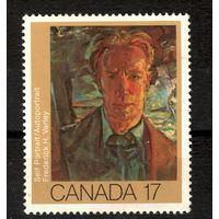 Канада \60м\искусство, 1981 г, худ.Фредерик Варли  MNH
