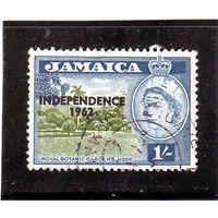 Ямайка. Ми-190.Королевские ботанические сады, Норе. Серия: независимость.1962.