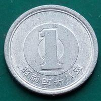1 йена 1973 ЯПОНИЯ