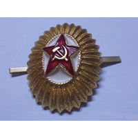 Кокарда СССР.
