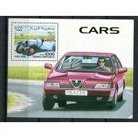 Сомали - 1998 - Автомобили - 1 блок. MNH.