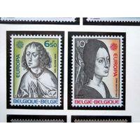Бельгия 1975 (Ми-1818-9) Европа СЕПТ** ЖИВОПИСЬ