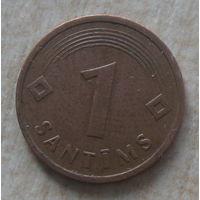 Латвия 1 сантим 1992 год