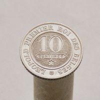 Бельгия 10 сантимов 1861