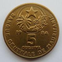 Мавритания 5 угий 1984