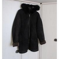 Куртка Дубленка Черная Р-р 52