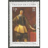 Тристан да Кунья. Монархи. Принц Фридрих Г. Оранский-Нассау. 2000г. Mi#670.