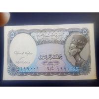 Египет 5 пиастров 1998г.