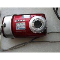 Фотоаппарат  цифровой Samsung Digimax A402.