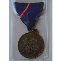 """Австрия.Медаль """"За Воинскую Службу"""""""