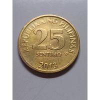 Филиппины 25 сентимо 2013