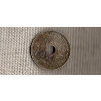Франция 25 сантимов 1929/(En)
