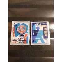 1964 Иран чистые клей MNH** полная серия (4-7)