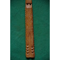 Флейта  ручной работы   32 см