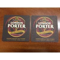 Подставка под пиво Fuller's London Porter (Великобритания) No 3
