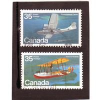 Канада.Ми-756,757. Vickers Vedette, Canso U-1225. Серия: Канадский самолет (1-я серия). Летающие лодки..1979.