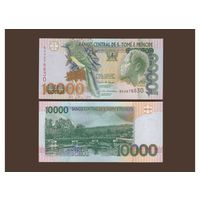 Сан-Томе и Принсипи. 10 000 добра . [UNC]