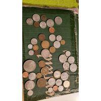 Сборный лот,распродажа, все кроме 1 сентимо Доминикана