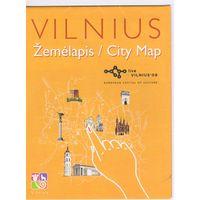 Карта г.Вильнюс.