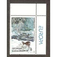 Грузия 1999 Европа - СЕРТ, Фауна, заповедники, правый верхний угол**