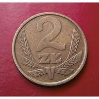 2 злотых 1985 Польша #01