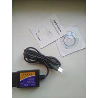 Адаптер ELM327 v 1.5 OBDII USB