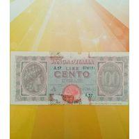 Италия 100 лир 1943г
