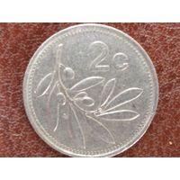 2 цента 1991 Мальта