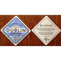 Подставка под пиво Guinness No 34