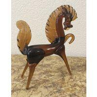 Статуэтка Лошадь (конь), стекло