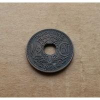 Французский Индокитай, 1/2 сантима 1938 г.