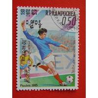 Кампучия 1985 г. Спорт.
