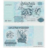 Алжир 100 динаров образца 1992 года UNC p137