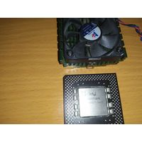 Pentium 200MMX Socket 7 + кулер