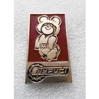 Значок. Олимпийский Мишка #0349