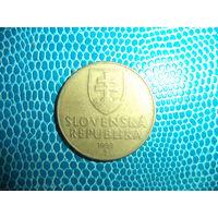 10 крон 1993 Словакия