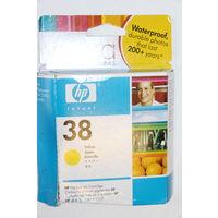 Струйный картридж HP 38 (C9417A) желтый