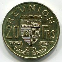 РЕЮНЬОН - 20 ФРАНКОВ 1964