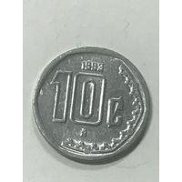 10 сентаво, 1993 г., Мексика