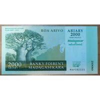 2000 ариари 2007 года - Мадагаскар - UNC
