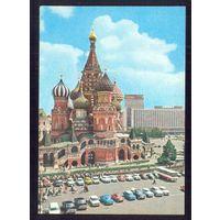 """СССР ДМПК 1977 Москва гост.""""Россия""""  храм авто автобус"""