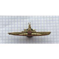 Знак Командир подводной лодки СССР 70-е гг. люкс